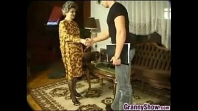 Granny Having Sex With A Young Guy