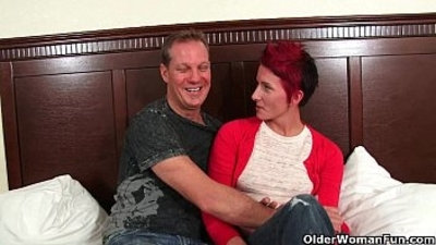 Mature milf gladly takes your cum