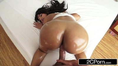 Bubble Butt Latina Rose Monroe Loves to Get Fucked in the Ass