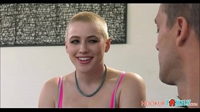 Hot Shaved Head Teen Riley Nixon Kicked Out Of Parents House Fucked To Orgasm By Uncle
