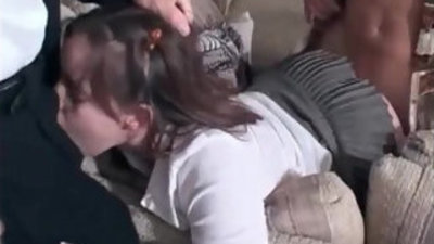 Hot young slut getting banged by some