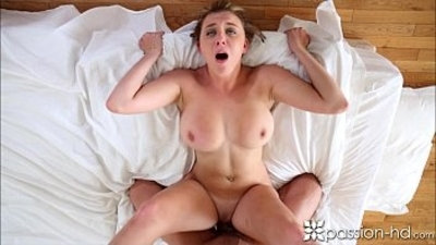 Passion HD Man comes home to his girlfriend ready to suck