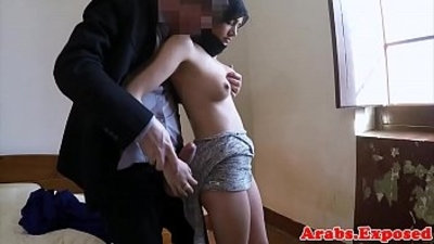 Stunning muslim babe drilled by big cock