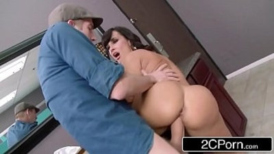 Club Cougar Lisa Ann Steals The Cock in the Womens Room