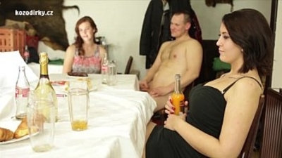 Bizarre orgy session with crazy czech people
