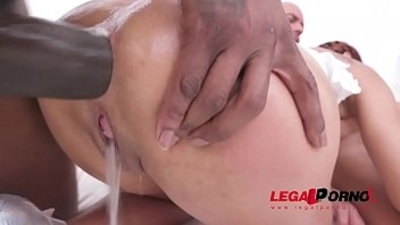 Veronica Leal balls deep anal fucking with piss drinking