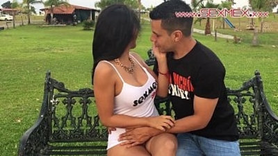Silvia Santez Mexican brunnete Slut fucks a guy she just met