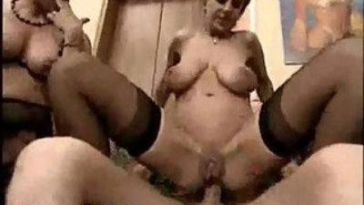 Mature anal casting